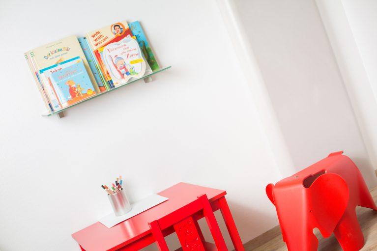 Zahnarztpraxis Wartezimmer Kinderbereich